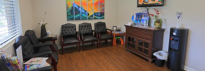 Chiropractic Tallahassee FL Waiting Room